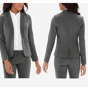 The Limited Collection gray flap pocket blazer 6